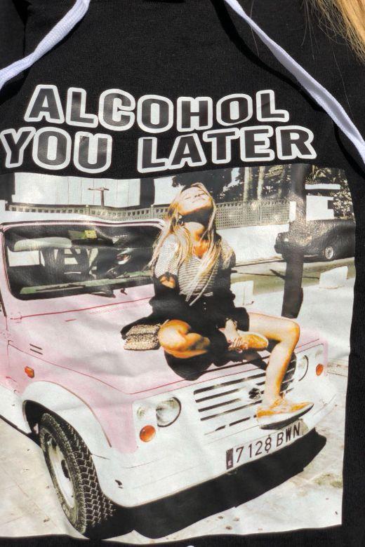Rochie de Zi Alcohol Black Bogas