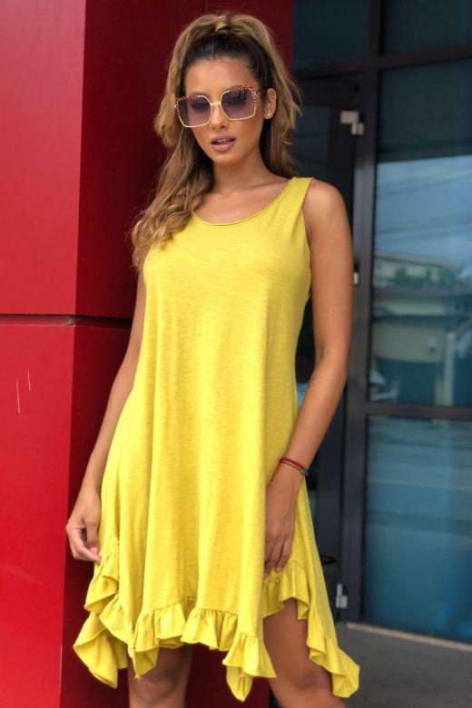 Rochie de Zi Conta Yellow Bogas