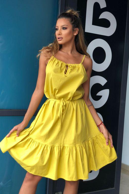Rochie de Zi Mega Yellow Bogas