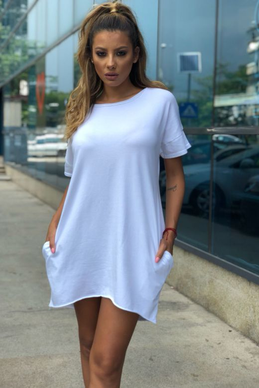 Rochie de Zi Loveyou White Bogas