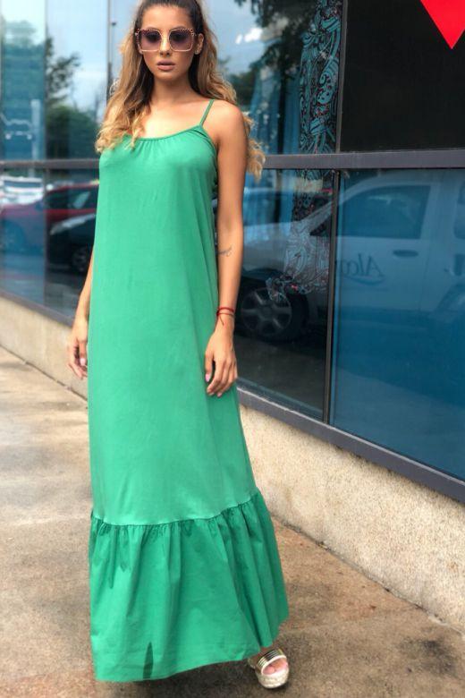 Rochie de Zi Sanywa Green Bogas