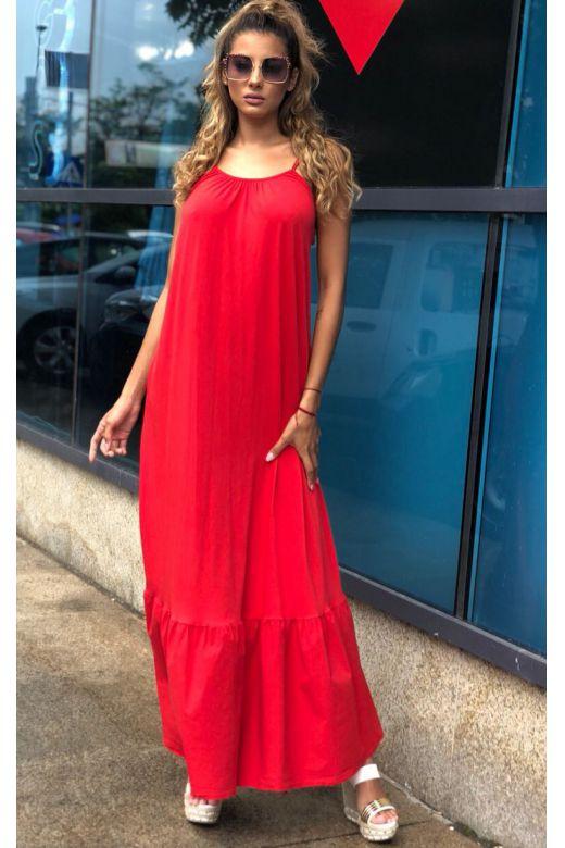 Rochie de Zi Sanywa Red Bogas