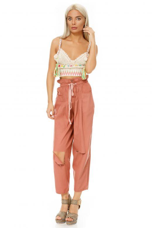 Pantaloni Merlins Pink Bogas