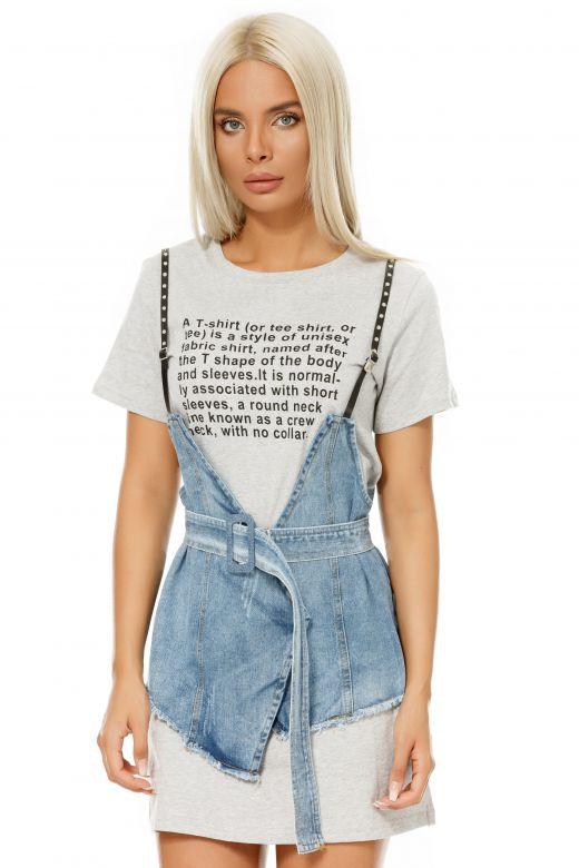 Rochie de Zi Shirt Bogas