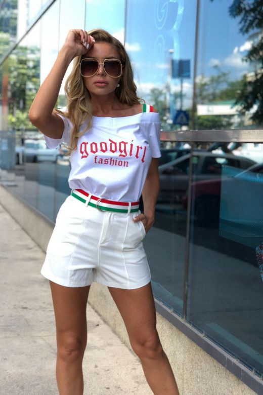 Compleu Goodgirl White Bogas