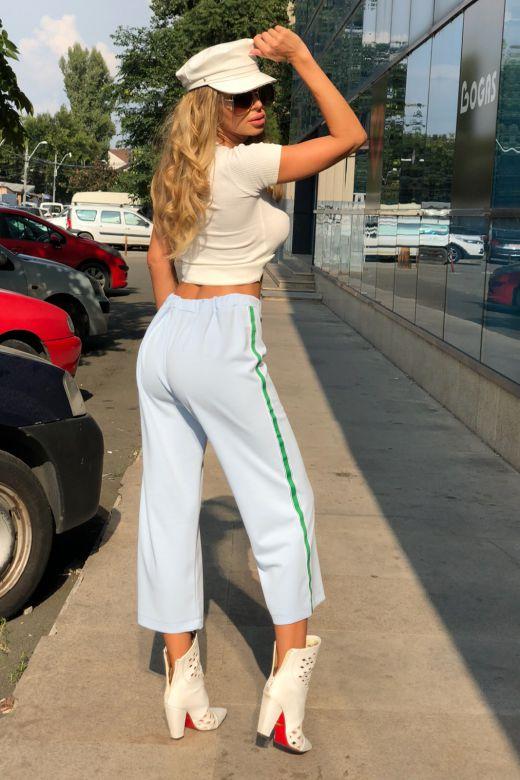 Pantaloni Fuentes Bleu Bogas