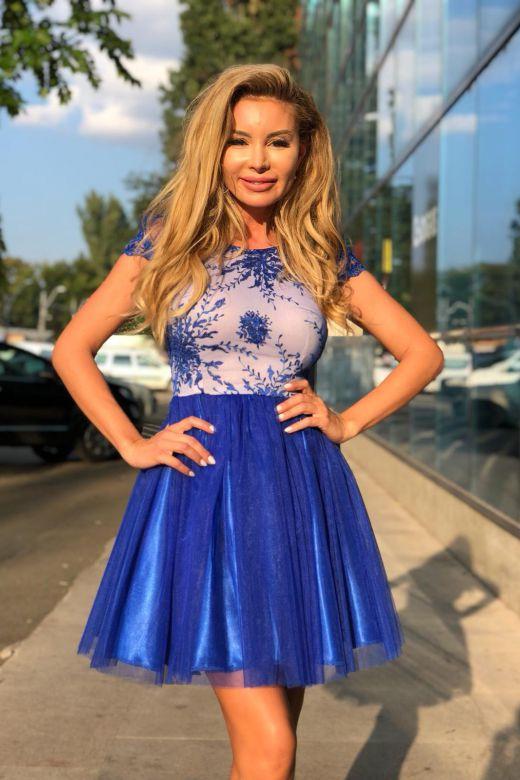 Rochie de Seara Yuella Blue Bogas