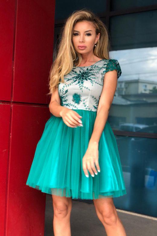 Rochie de Seara Yuella Green Bogas