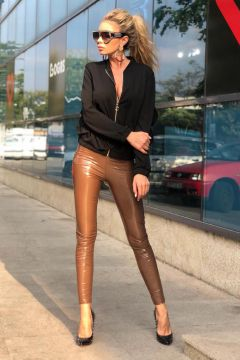 Pantaloni Sotoreal Brown Bogas