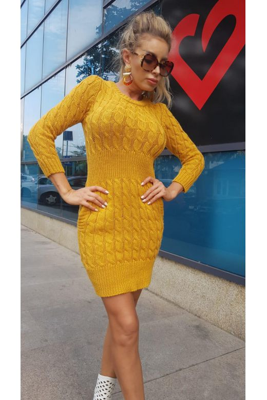 Rochie de Zi Chueca Yellow Bogas