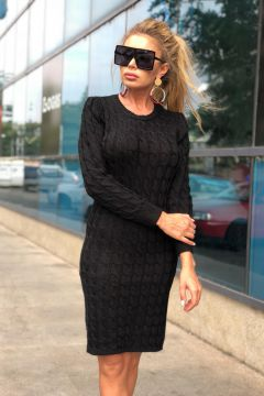Rochie de Zi Girona Black Bogas