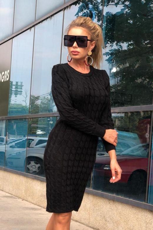 Rochie de Zi Girona Black Bogas