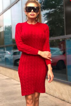 Rochie de Zi Girona Red Bogas
