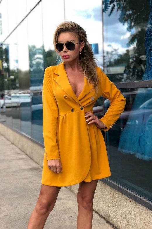 Rochie de Seara Almudena Yellow Bogas
