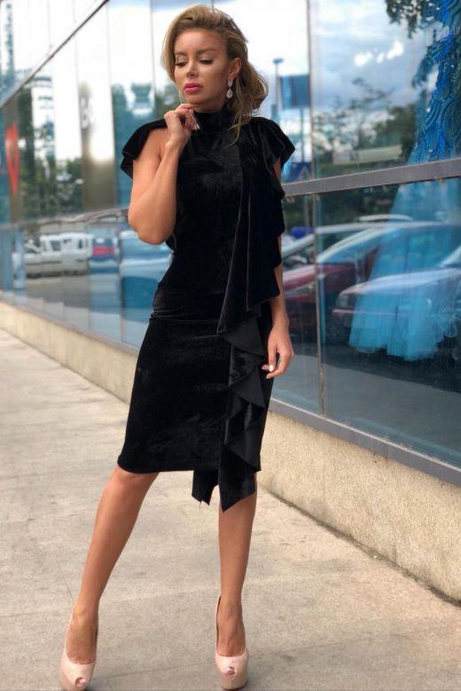 Rochie de Seara Santacruz Black Bogas