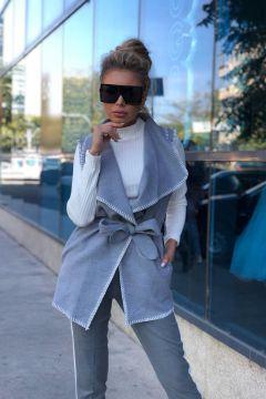 Vesta Saucejo Gray Bogas