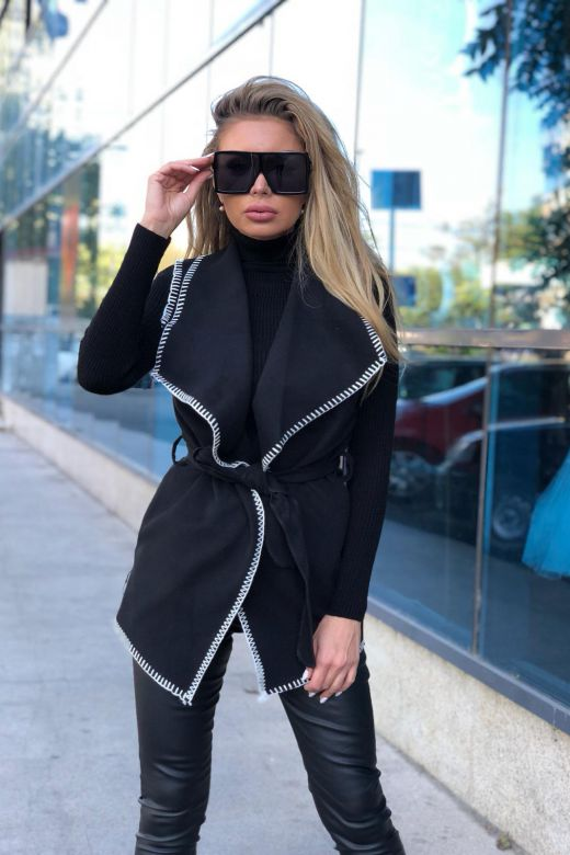 Vesta Saucejo Black Bogas
