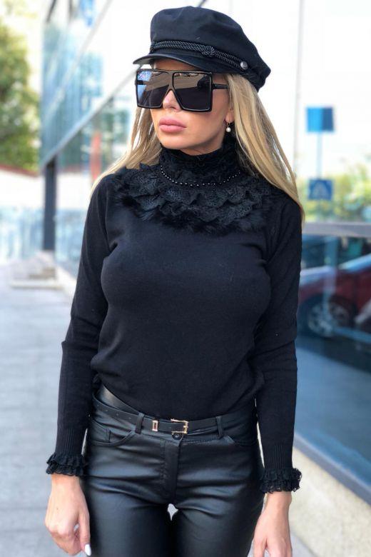 Bluza Rayon Black Bogas
