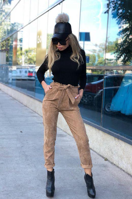 Pantaloni Tenerife Beige Bogas