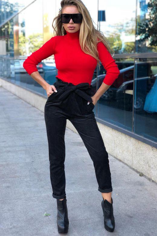 Pantaloni Tenerife Black Bogas