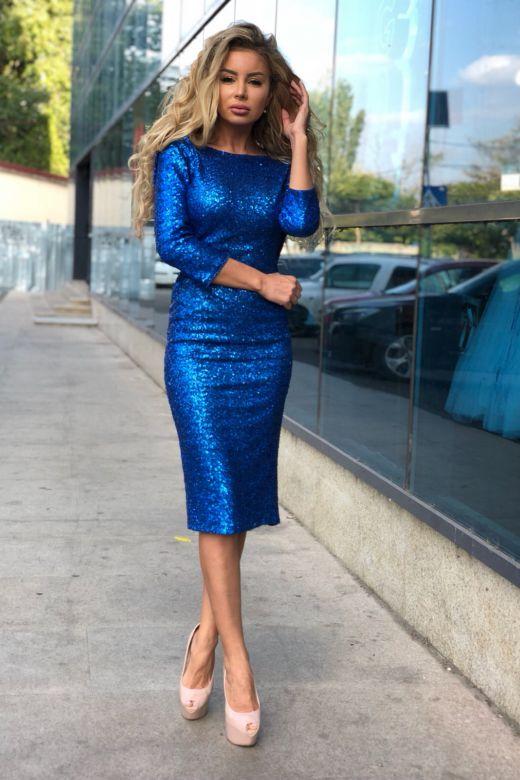 Rochie de Seara Catalonia Blue Bogas