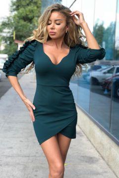 Rochie de Seara Elysees Green Bogas
