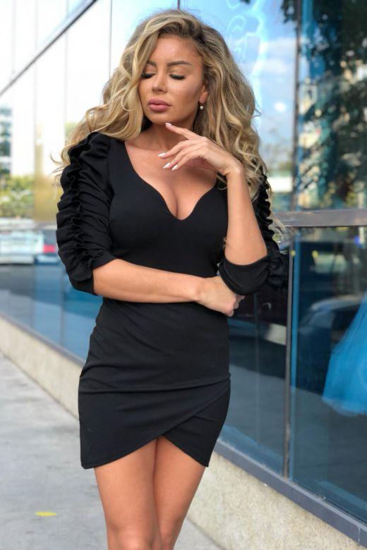 Rochie de Seara Elysees Black Bogas