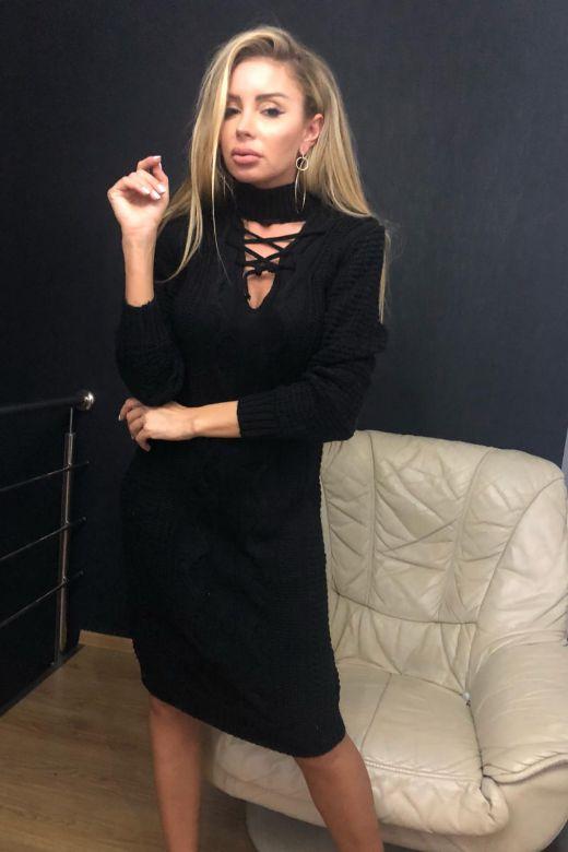 Rochie de Zi Ventosa Black Bogas