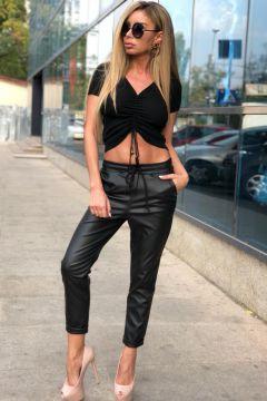 Pantaloni Albal Black Bogas