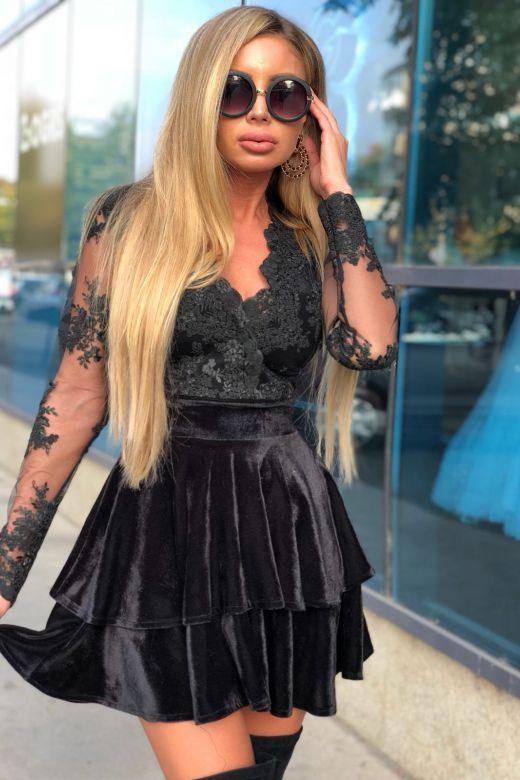 Rochie de Seara Sollana Black Bogas