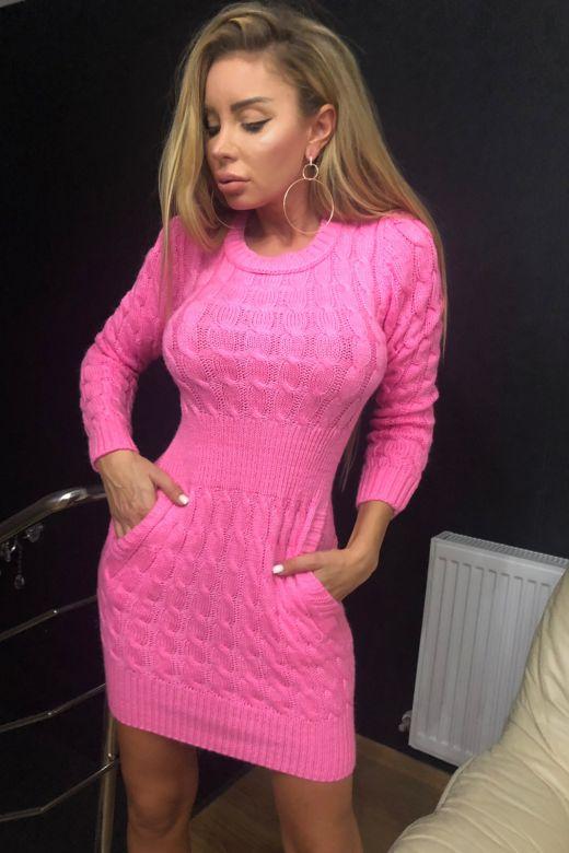 Rochie de Zi Chueca Pink Bogas
