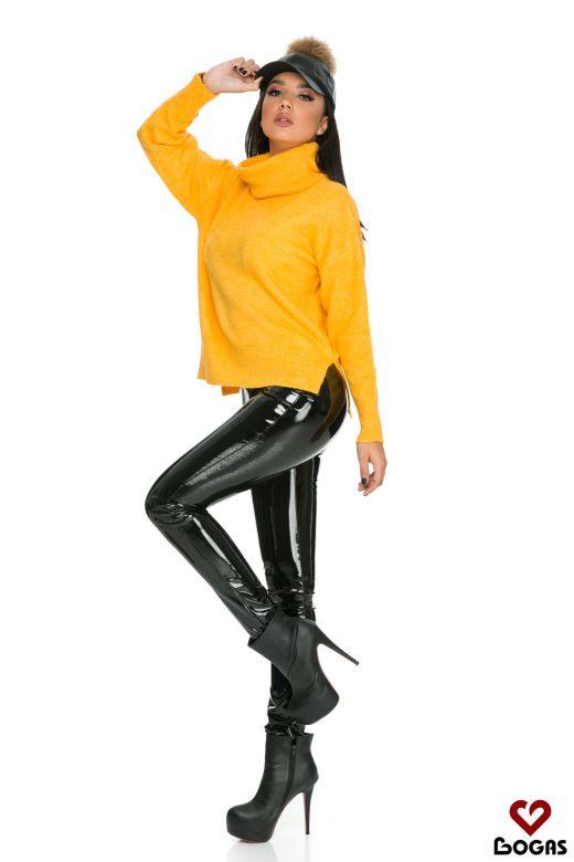 Pulover Figura Yellow Bogas