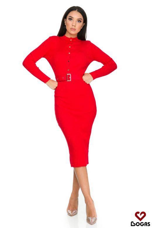 Rochie de Zi Moreja Red Bogas