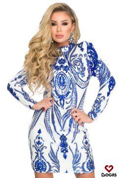 Rochie de Seara Sesena Blue Bogas