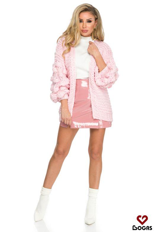 Cardigan Franca Pink Bogas