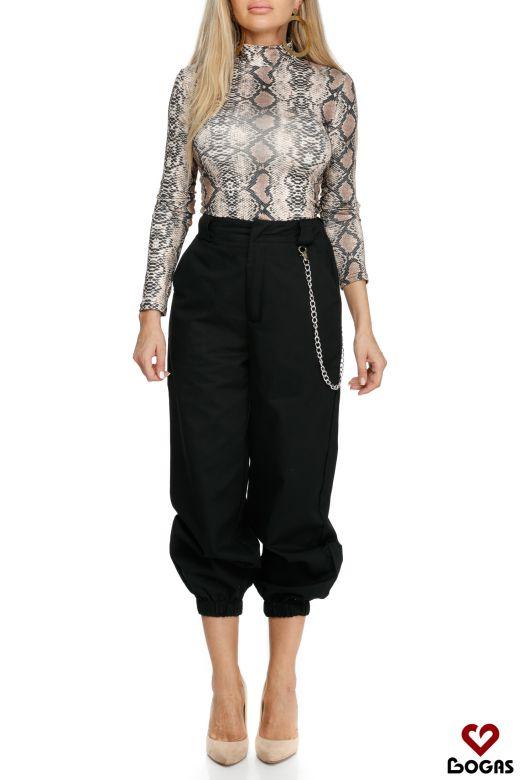 Pantaloni Sanluis Black Bogas