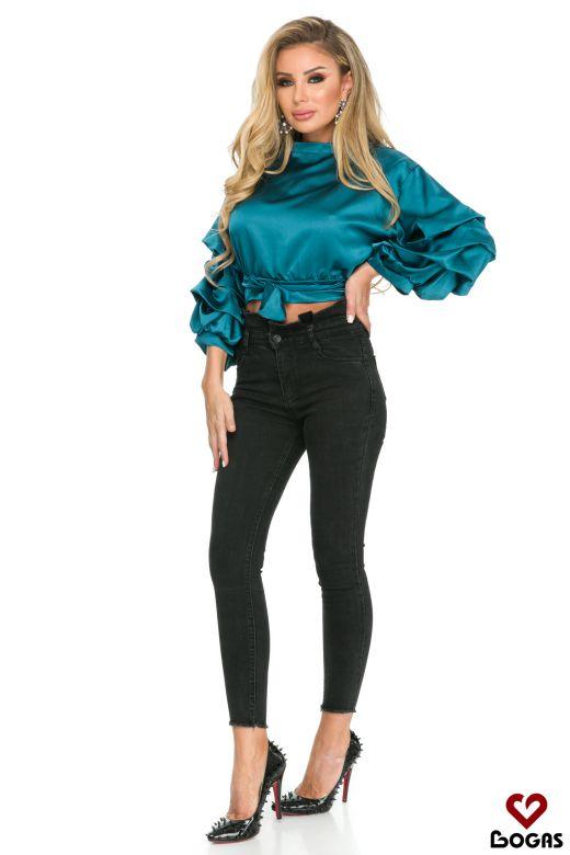 Bluza Juarez Turquoise Bogas