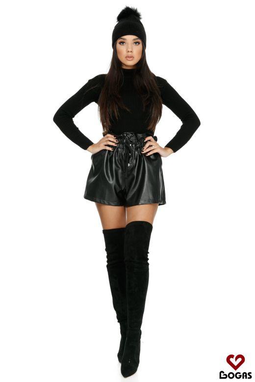 Pantaloni Bangui Black Bogas