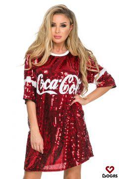 Rochie de Seara CocaCola Red Bogas