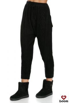 Pantaloni Caballeros Black Bogas