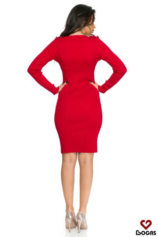 Rochie de Zi Hermosa Red Bogas
