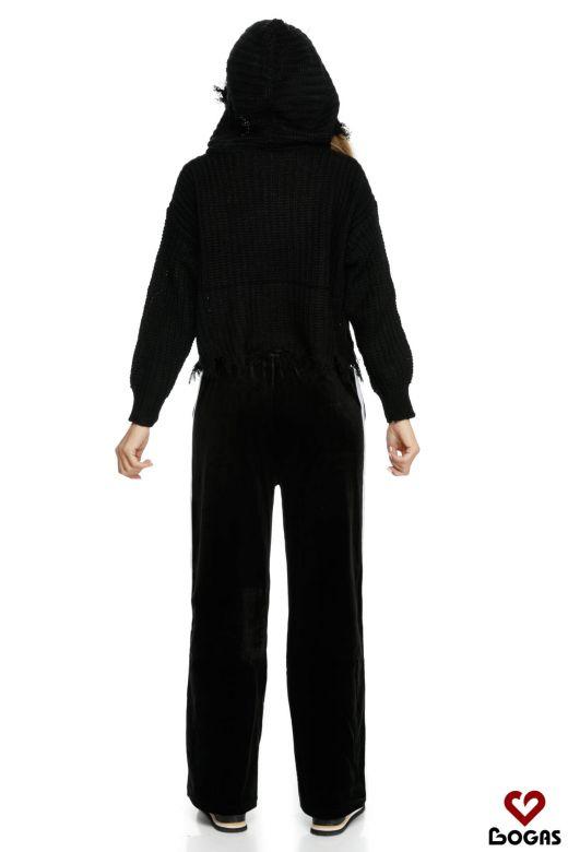 Pantaloni Pizarra Black Bogas