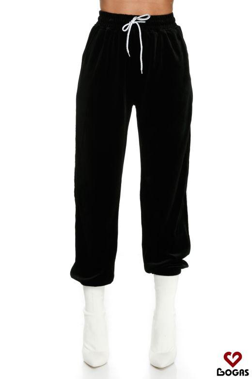 Pantaloni Roque Black Bogas