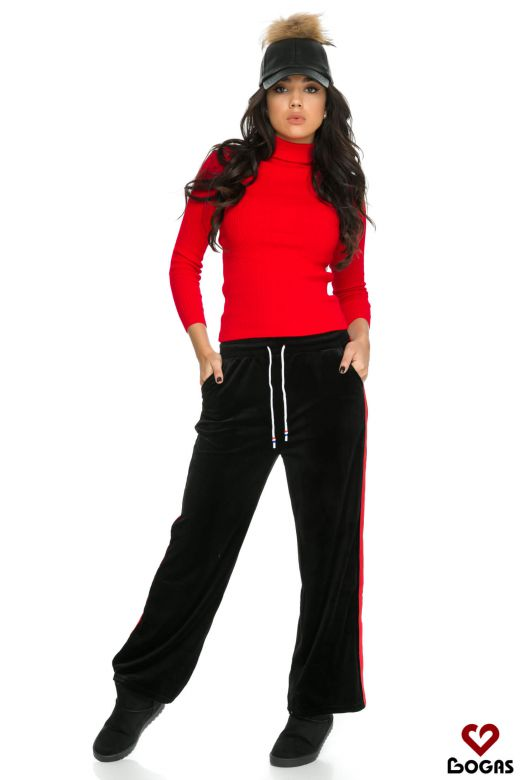 Pantaloni Cuarton Black Bogas