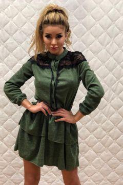Rochie de Zi LLoret Green Bogas