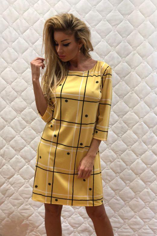 Rochie de Seara Almeria Yellow Bogas