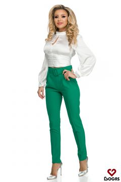Pantaloni Verinod Green Bogas