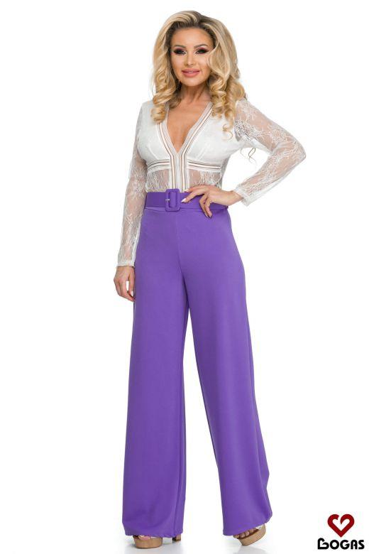 Pantaloni Incredibily Mauve Bogas