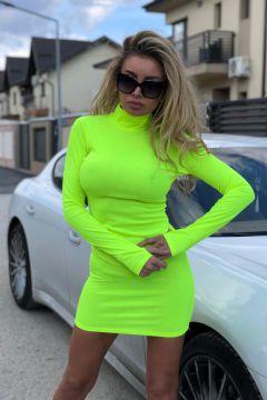 Rochie de Zi Locka Yellow Bogas