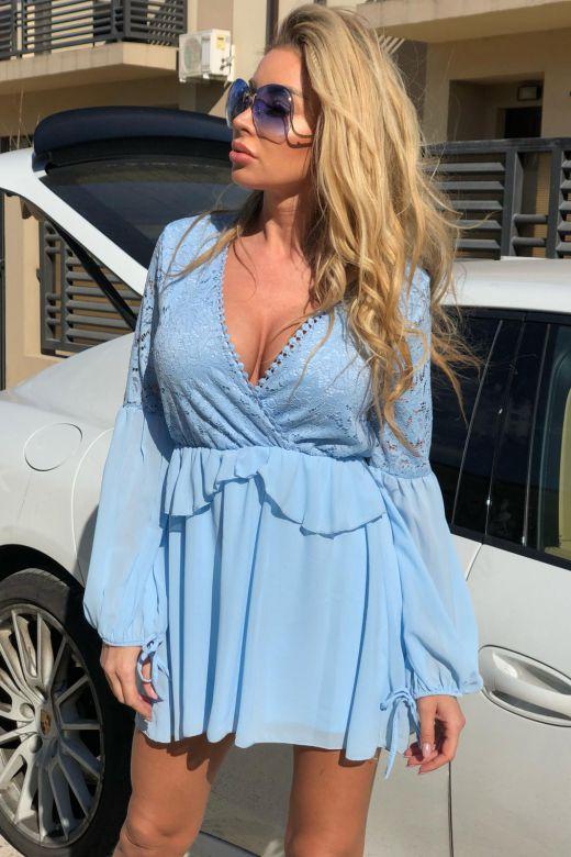 Rochie de Seara Rallis Bleu Bogas